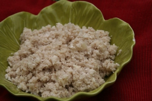 Creamy Allspice Cauliflower Rice 2013