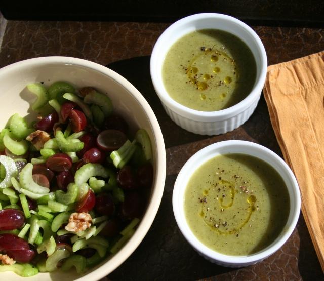 Cumin-scented Zucchini Soup 2013