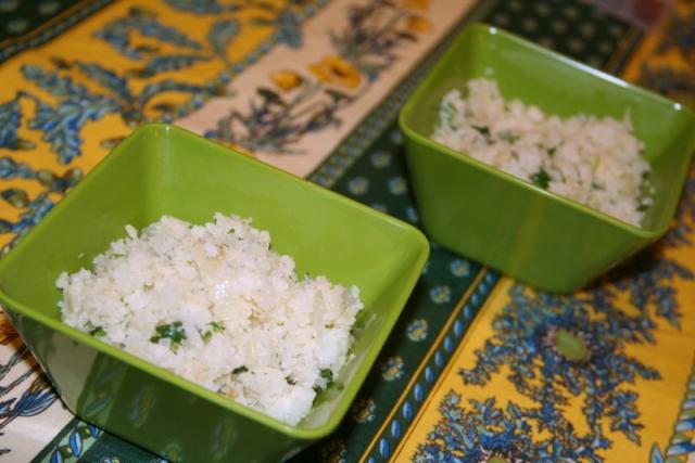 Cilantro Cauliflower Rice