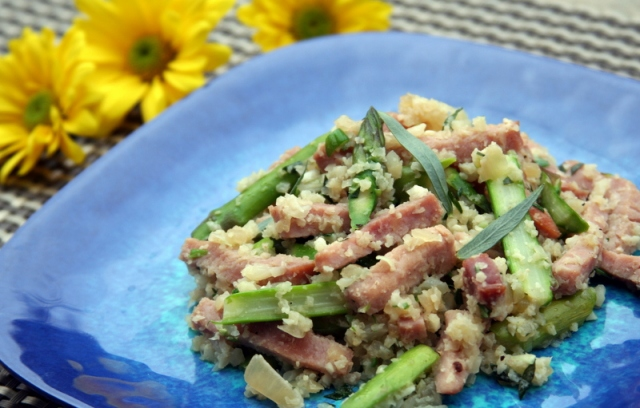 Ham and Asparagus Risotto 2014 3