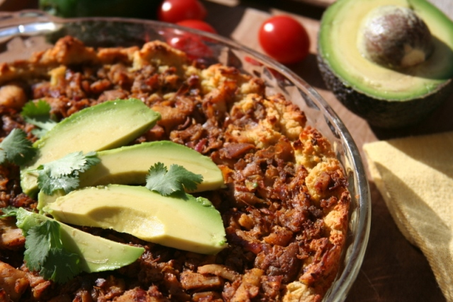 Coconut Contentment's Deep Dish Tamale Pie