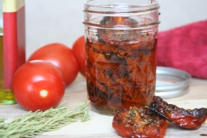 Roasted Tomatoes in Olive Oil