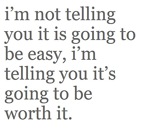 Worth It quote