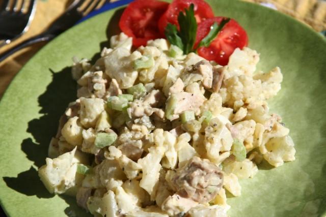 Chicken Faux-tato Salad 2 2016