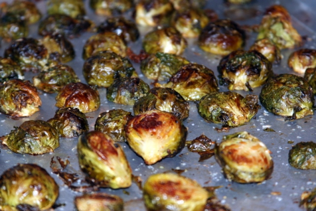 Roasted Brussels Sprouts 2016