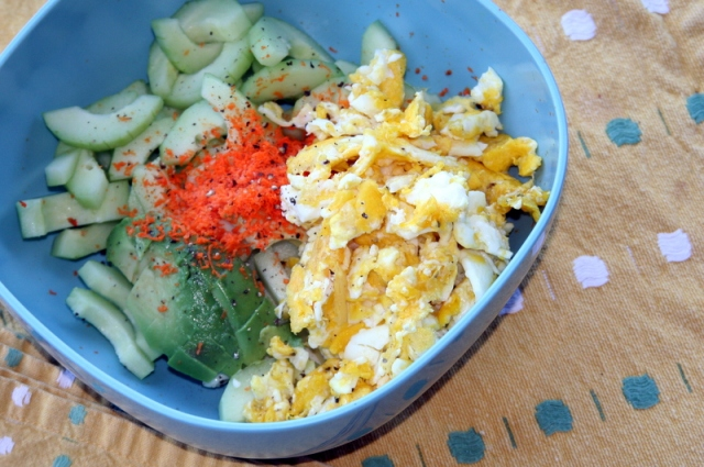 Cucumber Breakfast with Turmeric 2016