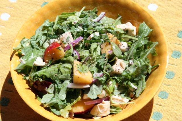 Spring Fling Nectarine Salad 2017